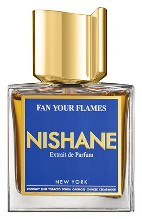 Парфюмерная вода fan your flames (50ml) NISHANE бесцветного цвета, арт. 8681008055579   Фото 1 (Ограничения доставки: flammable)