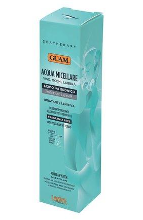 Вода мицеллярная для лица с гиалуроновой кислотой GUAM бесцветного цвета, арт. 8025021251400 | Фото 2