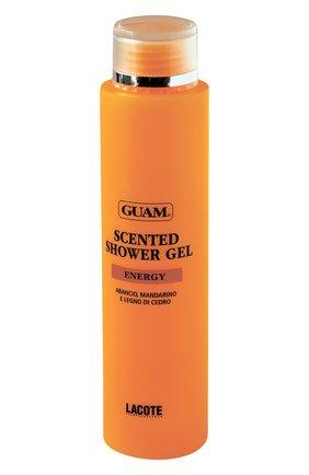Гель для душа ароматический «энергия и тонус» GUAM бесцветного цвета, арт. 8025021820477   Фото 1