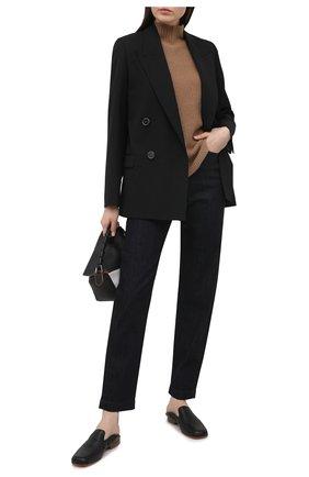 Женские джинсы DOLCE & GABBANA темно-синего цвета, арт. FTBXGD/G8DA5   Фото 2 (Материал внешний: Хлопок, Деним; Длина (брюки, джинсы): Стандартные; Кросс-КТ: Деним; Стили: Кэжуэл; Силуэт Ж (брюки и джинсы): Узкие)