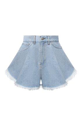 Женские джинсовые шорты FORTE DEI MARMI COUTURE синего цвета, арт. 21SF9752 | Фото 1