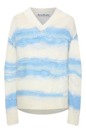 Женский свитер ACNE STUDIOS голубого цвета, арт. A60242 | Фото 1