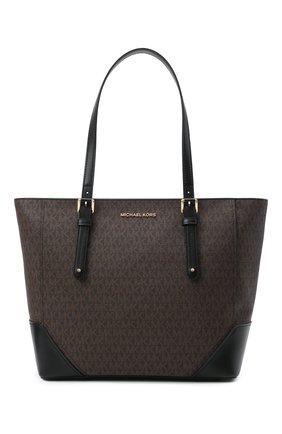 Женский сумка-тоут aria MICHAEL MICHAEL KORS коричневого цвета, арт. 30H9GXAT3B | Фото 1