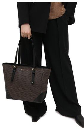 Женский сумка-тоут aria MICHAEL MICHAEL KORS коричневого цвета, арт. 30H9GXAT3B | Фото 2