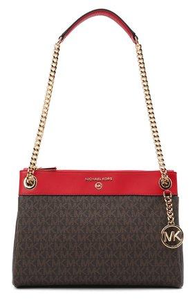 Женская сумка susan MICHAEL MICHAEL KORS коричневого цвета, арт. 30H9GUSL1B | Фото 1