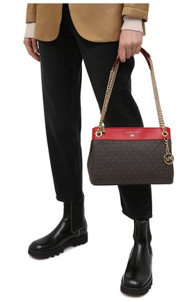Женская сумка susan MICHAEL MICHAEL KORS коричневого цвета, арт. 30H9GUSL1B | Фото 2