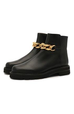 Кожаные ботинки Chain | Фото №1