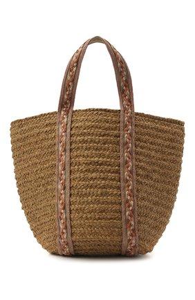 Женская сумка bondi SANS-ARCIDET бежевого цвета, арт. B0NDI BAG S21/L   Фото 1
