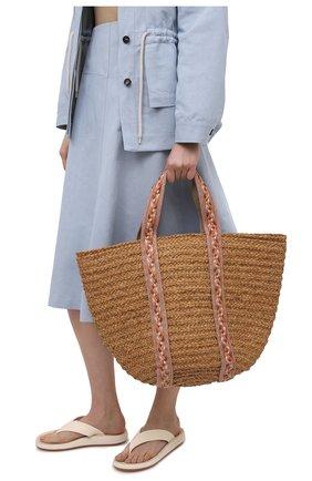 Женская сумка bondi SANS-ARCIDET бежевого цвета, арт. B0NDI BAG S21/L   Фото 2