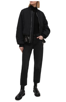 Женское боди AGOLDE черного цвета, арт. A7064-1260   Фото 2