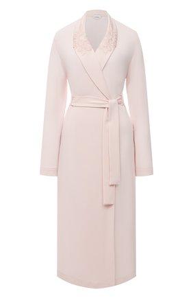 Женский халат LA PERLA светло-розового цвета, арт. 0043240 | Фото 1