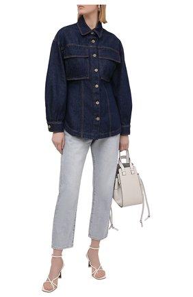Женская джинсовая рубашка TELA синего цвета, арт. 01 T108 A6 0259 | Фото 2