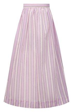 Женская хлопковая юбка TELA розового цвета, арт. 01 0156 11 5270 | Фото 1