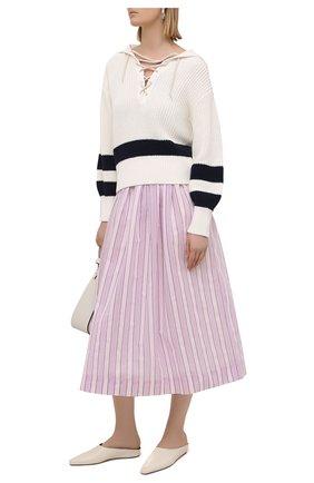 Женская хлопковая юбка TELA розового цвета, арт. 01 0156 11 5270 | Фото 2