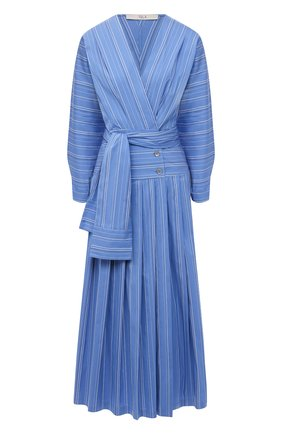 Женское хлопковое платье TELA синего цвета, арт. 01 0148 01 5993 | Фото 1