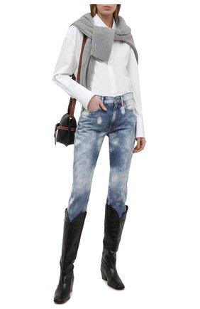 Женские джинсы POLO RALPH LAUREN синего цвета, арт. 211825838 | Фото 2