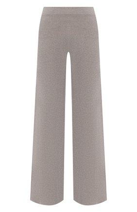 Женские брюки из вискозы D.EXTERIOR бежевого цвета, арт. 52258 | Фото 1 (Материал внешний: Вискоза; Длина (брюки, джинсы): Стандартные; Стили: Кэжуэл; Силуэт Ж (брюки и джинсы): Расклешенные; Женское Кросс-КТ: Брюки-одежда)