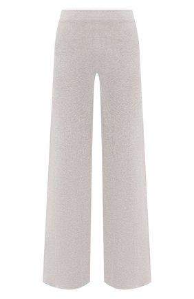 Женские брюки из вискозы D.EXTERIOR светло-бежевого цвета, арт. 52258   Фото 1
