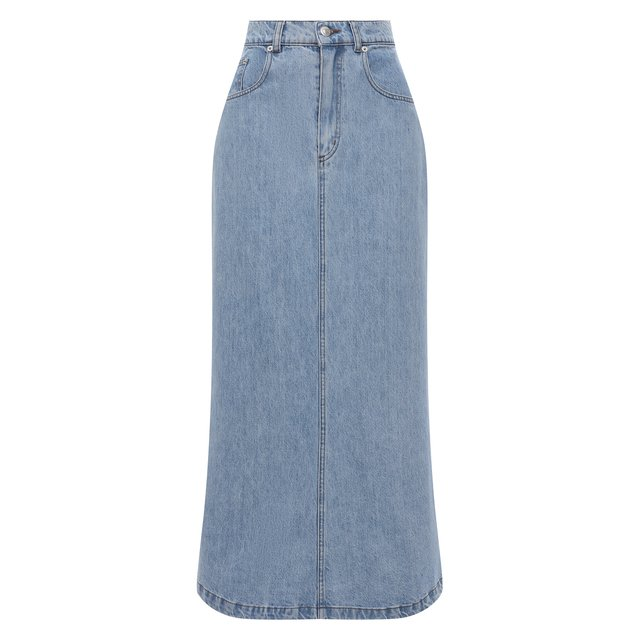 Джинсовая юбка Nanushka