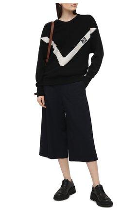 Женский свитер REDVALENTINO черного цвета, арт. VR3KC06D/5NF | Фото 2