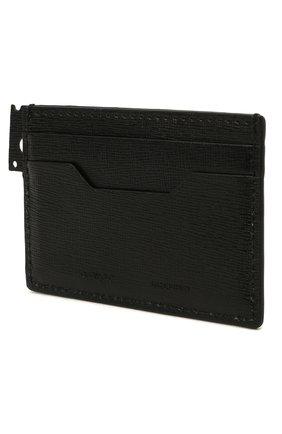 Женский кожаный футляр для кредитных карт OFF-WHITE черно-белого цвета, арт. 0WNC014R21LEA001 | Фото 2