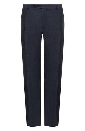 Мужские шерстяные брюки CANALI темно-синего цвета, арт. 71019/AA02524/60-64   Фото 1