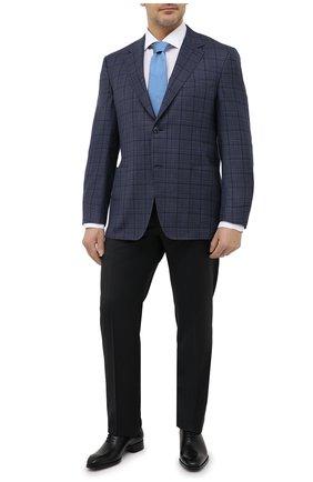 Мужской шерстяной пиджак CANALI темно-синего цвета, арт. 23288/CF01733/116/60-64   Фото 2