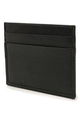 Мужской кожаный футляр для кредитных карт ERMENEGILDO ZEGNA черного цвета, арт. E1139W-LHC0R | Фото 2