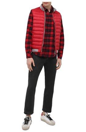 Мужской пуховый жилет HERNO красного цвета, арт. PI0722U/12361 | Фото 2