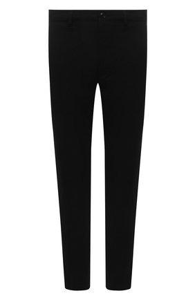 Мужские хлопковые брюки DIESEL черного цвета, арт. A00999/0JAZA | Фото 1