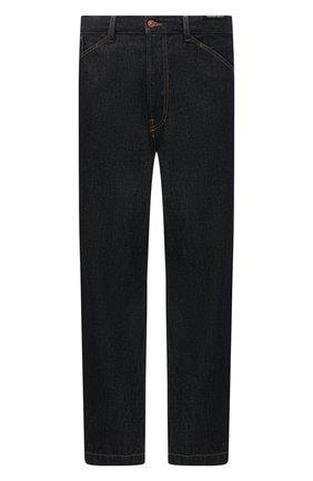 Мужские джинсы DIESEL темно-синего цвета, арт. 00SGQD/009HP | Фото 1