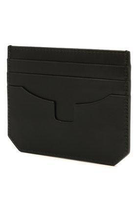Мужской кожаный футляр для кредитных карт SANTONI черного цвета, арт. UFPPA2026F0-XVVDN01 | Фото 2