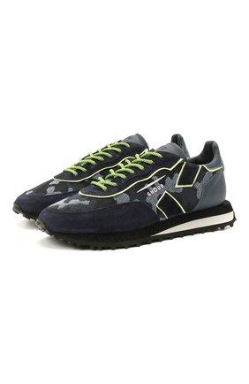 Мужские комбинированные кроссовки GHOUD разноцветного цвета, арт. E11ERSLMCL01 | Фото 1