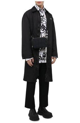 Мужская текстильная сумка vltn VALENTINO черного цвета, арт. VY2B0A41/ACF   Фото 2
