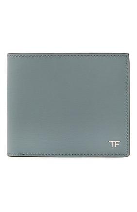 Мужской кожаное портмоне TOM FORD синего цвета, арт. Y0228P-LCL053 | Фото 1