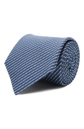 Мужской шелковый галстук ETON синего цвета, арт. A000 32920   Фото 1