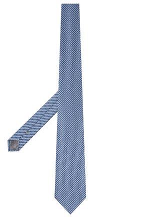 Мужской шелковый галстук ETON синего цвета, арт. A000 32920   Фото 2