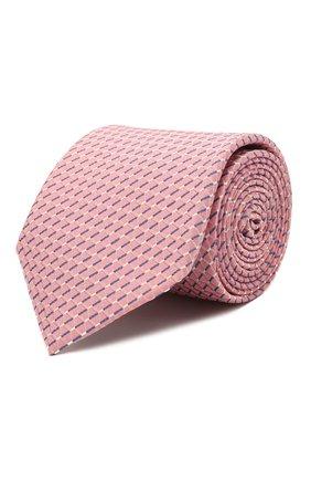 Мужской шелковый галстук ETON розового цвета, арт. A000 32920 | Фото 1