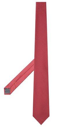 Мужской шелковый галстук ETON красного цвета, арт. A000 32920   Фото 2