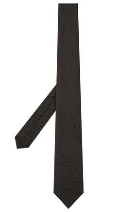 Мужской шелковый галстук ETON черного цвета, арт. A000 32937 | Фото 2