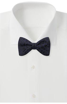 Мужской шелковый галстук-бабочка ETON темно-синего цвета, арт. A000 32941   Фото 2