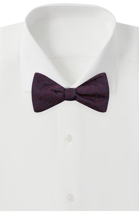 Мужской шелковый галстук-бабочка ETON фиолетового цвета, арт. A000 32941 | Фото 2