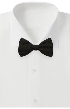 Мужской шелковый галстук-бабочка ETON черного цвета, арт. A000 32945 | Фото 2