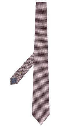 Мужской галстук из шелка и хлопка ETON розового цвета, арт. A000 32980 | Фото 2