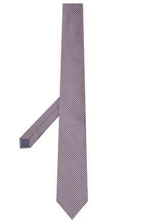 Мужской галстук из шелка и хлопка ETON сиреневого цвета, арт. A000 32980 | Фото 2