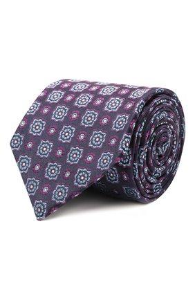 Мужской шелковый галстук ETON фиолетового цвета, арт. A000 32983 | Фото 1