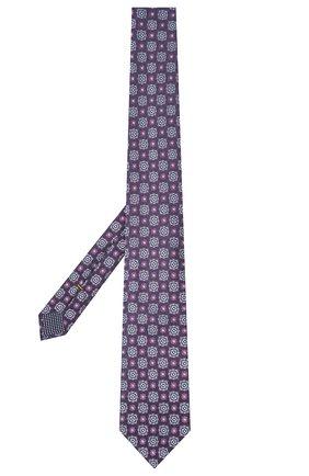 Мужской шелковый галстук ETON фиолетового цвета, арт. A000 32983 | Фото 2