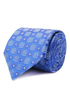 Мужской шелковый галстук ETON синего цвета, арт. A000 32983   Фото 1