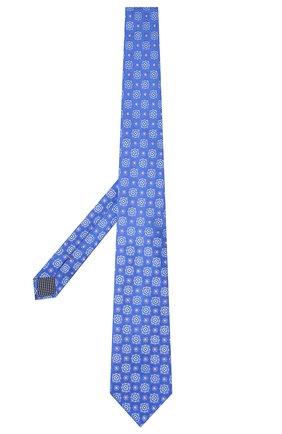 Мужской шелковый галстук ETON синего цвета, арт. A000 32983   Фото 2