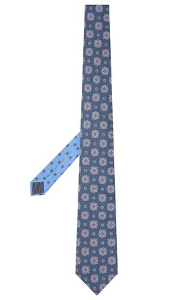 Мужской хлопковый галстук ETON синего цвета, арт. A000 32997   Фото 2